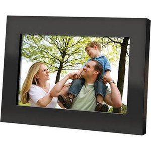"""Coby DP700BLK 7.0"""" Digital Photo Frame - Black"""