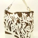 BEAUTIFUL LARGE SHOULDER HANDBAG- WHITE