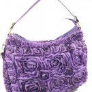NEW ARRIVAL PURPLE FLOWER HANDBAG- HOT!