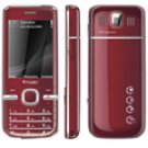 "T800 2.4"" Ruby Dual Sim Bluetooth Cellphone"
