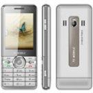 "N6000 2.2"" Tan Unlocked Quadband Bluetooth Phone"