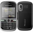 "C8000 2.2"" Black Dual Sim Quadband Cellphone"