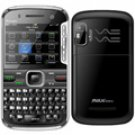"C100 2.2"" Black Dual Sim Quadband Cellphone"