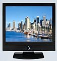 "42"" Black LCD Widescreen TV"