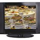 "20"" Black LCD Wide-Angle TV"