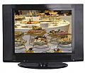 """20"""" Black LCD Wide-Angle TV"""