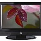 "23"" Black LCD Widescreen TV"