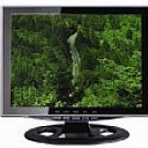 """15"""" Black LCD Wide-Angle TV"""