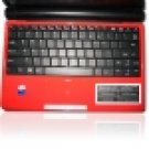 "Eee PC Red 10"" 1.6 GHZ 160 GB SATA Wi-Fi Netbook"