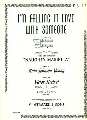 I'm Falling in Love with Someone, From the Operetta Naughty Marietta,1941 Sheet Music - 104