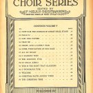 Welcome, St. Olaf Choir Series Published by Augsburg Publishing House Sheet Music - 114