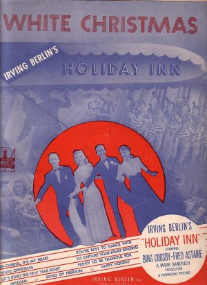 White Christmas from Paramount Picture Holiday Inn, 1942 Vintage Sheet Music - 123