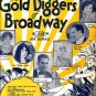 Painting the Clouds with Sunshine, Gold Diggers of Broadway Sheet Music - 0132