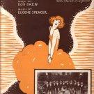 Just a Bundle of Sunshine with Ukulele Arrangement 1925 Vintage Sheet Music - 0141