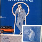 Poor Papa, Words by Billy Rose Music by Harry Woods 1926 Vintage Piano Sheet Music - 0155