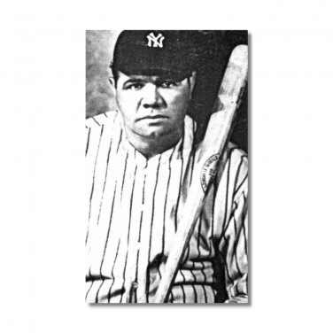 Babe Ruth Baseball Hero fridge Magnet kitchen refrigerator vintage baseball player home run