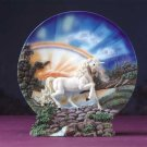 Unicorn Plate With Stand