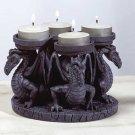 4 Dragons Votive Candleholder