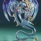 Glass Sculpture Medieval Dragon