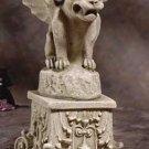 Gargoyle On Pedestal