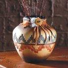 Ceramic Geometric Pattern Vase