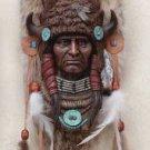 Buffalo Headdress Wall Plaque