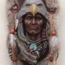Eagle Headdress Wall Plaque
