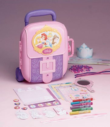 Princess Activity Rolling Case