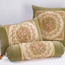 Green Velvet Cushion Set