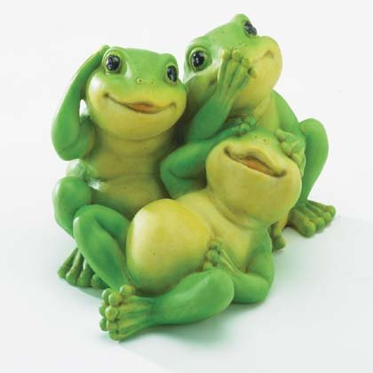"""Playful """"Innocent"""" Frogs"""