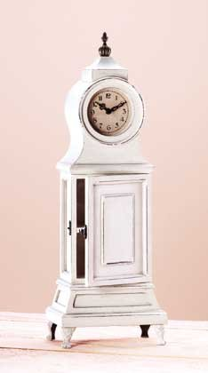 Wood French Style Table Clock