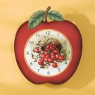 Apple Shaped Clock