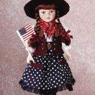 """16"""" Porcelain Doll-Annie"""