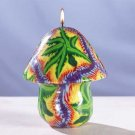 Miracle Leaf Mushroom Candle