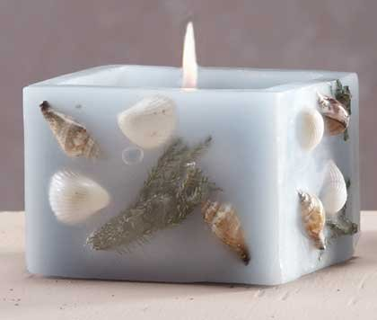 Scented Candle - Sea Shells