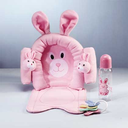 Pink Baby Gift Set with Headrest
