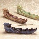 Glazed Porcelain Dragon Incense Burner