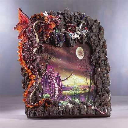 Dragon's Treasure 8x10 Frame