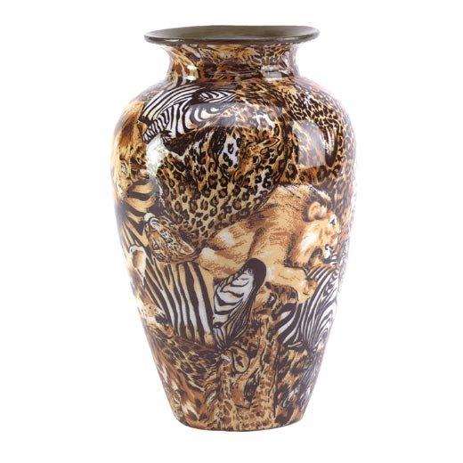 Patchwork Vase - Safari