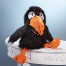 Squeaking Crow Hand Puppet