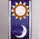 Art Glass Celestial Suncatcher