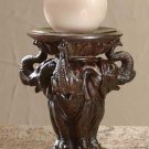 Three Elephants Candle Holder