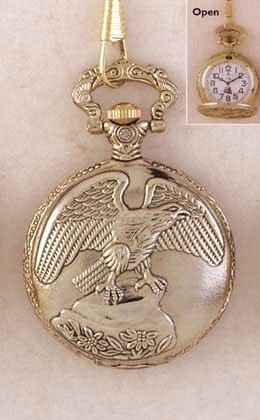 Pocket Watch - Eagle
