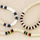 Coconut and Clam Shell Necklaces