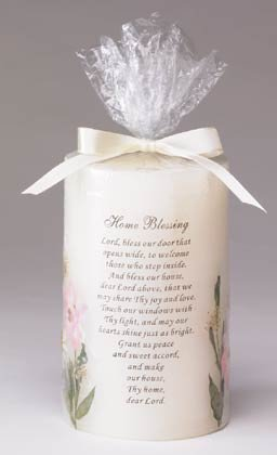 """Candle """"Bless Our Home"""""""