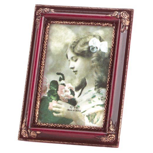 Rosewood-Simulated Photo Frame