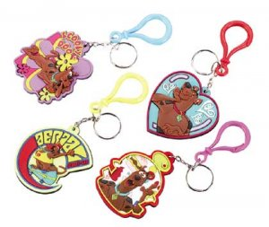 Laser-Cut Scooby Doo Keychains