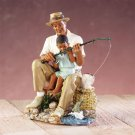 Father and Son Figurine