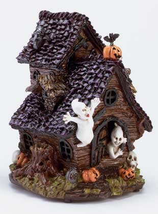 Musical Haunted House with Multicolor Light