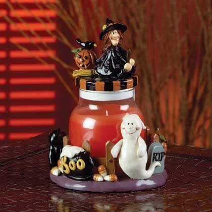 Halloween Candle Jar